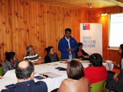 SENDA Previene Futrono finalizó el año con 3ª Comisión Comunal de Alcohol y Drogas