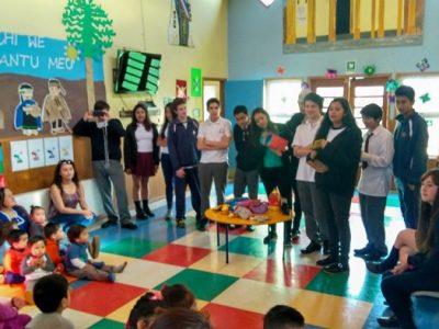 Estudiantes del programa Actuar A Tiempo desarrollaron iniciativas medioambientales en jardines infantiles de La Unión