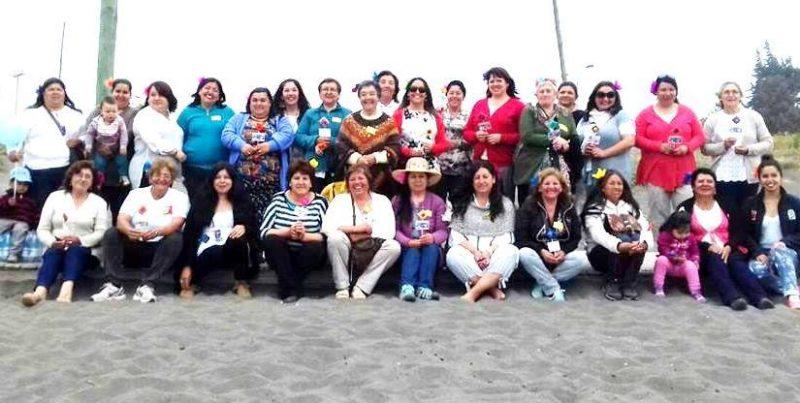 Senda Pichilemu finaliza talleres comunitarios con mujeres