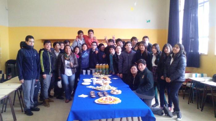 Estudiantes del Programa Actuar A Tiempo de SENDA Previene Valdivia finalizaron actividades de año con diversas acciones