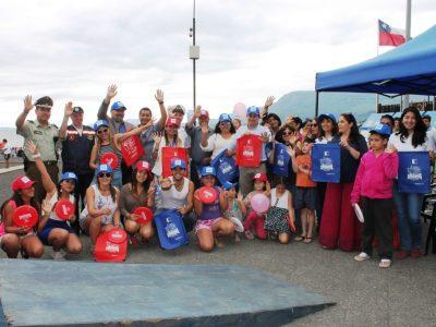 SENDA Araucanía dio el vamos a campaña de verano 2017 en Pucon
