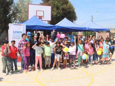 Con foro teatro se promueve la prevención del consumo de drogas y alcohol a niños de Cartagena