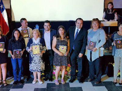 SENDA Biobío reconoce a personajes destacados del año