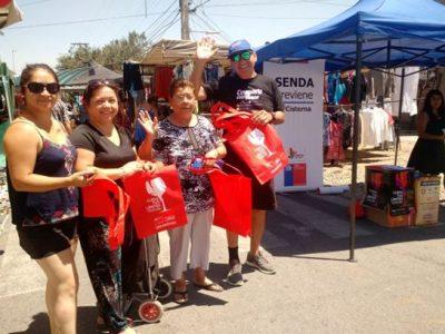 SENDA Previene La Cisterna difunde campaña de verano a vecinos