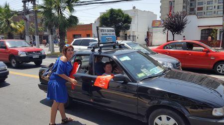 SENDA Previene La Cisterna difunde campaña Cuida tus Límites