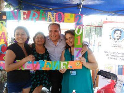 SENDA Previene PAC lanza campaña de verano junto a vecinos