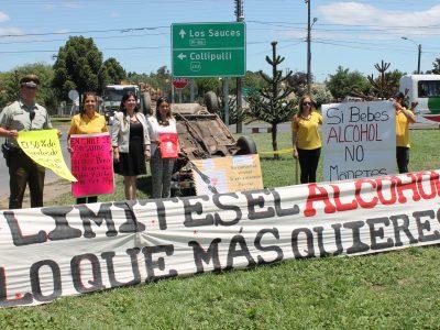 SENDA Araucanía llamó a conductores de Angol a la responsabilidad en actividades de fin de año