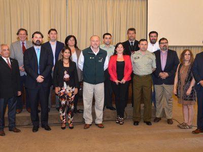 SENDA Araucanía participa en renovación de consejo comunal de seguridad pública bajo Ley 20.965