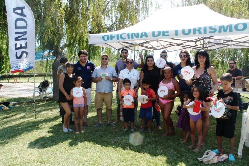 Senda Las Cabras lanza campaña de Verano en Lago Rapel