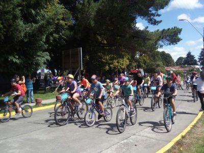 En Llanquihue pedalearon por un verano libre de drogas