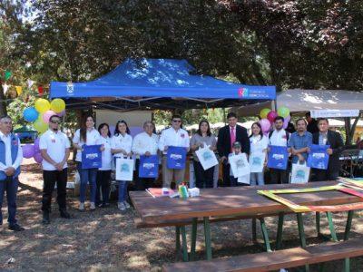 SENDA Previene difundió campaña de verano en Feria Frutos de La Unión