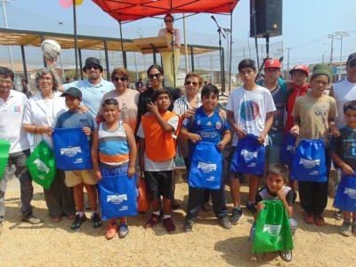 Con actividades deportivas lanzan campaña en Illapel y Los Vilos