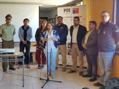 Instituciones públicas y organizaciones sociales trabajan la temática de drogas y alcohol en Isla Santa María