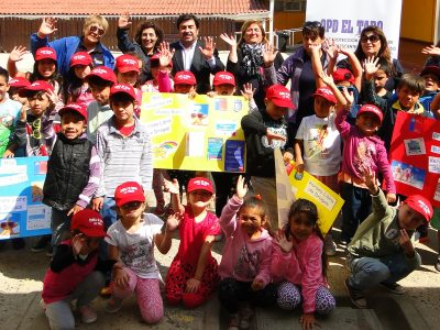 Con una tarde recreativa para niños y niñas SENDA Previene El Tabo lanzó campaña de verano