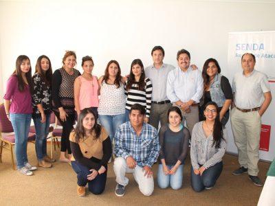 A través de supervisión clínica capacitan a profesionales colaboradores de Senda Atacama