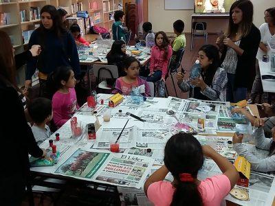Talleres de medio ambiente se realizan en Escuela de Verano de San Antonio