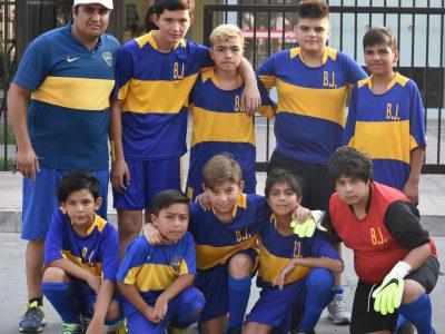 SENDA Previene Santa María realizó segundo torneo de fútbol calle