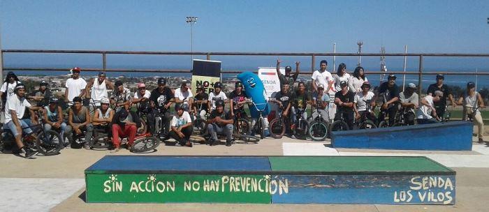 En Los Vilos cierran campaña con campeonato de BMX