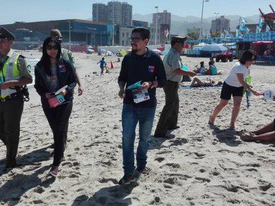 """Gobernación de Antofagasta y SENDA impulsan campaña """"Entre todos más seguros"""""""