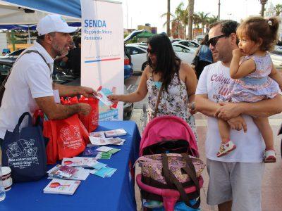 SENDA realizó más de 300 actividades preventivas en el marco de la campaña de verano «Más conversación, menos riesgo»