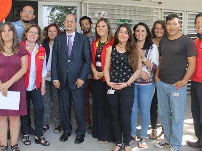Director de SENDA visita centro de tratamiento para adolescentes de Peñalolén en su primera actividad en terreno
