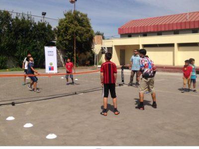 Previene Pudahuel difunde campaña Verano Libre de Drogas con deportes y juegos