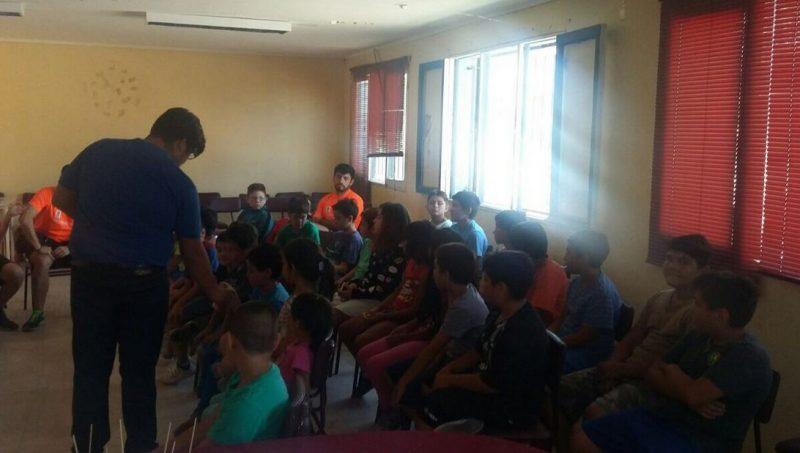 En Tiltil promocionan campaña en el Liceo Polivalente Manuel Rodríguez