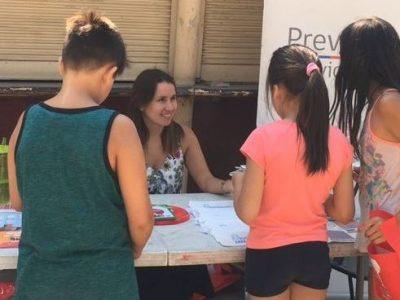 SENDA Previene Providencia difunde campaña de verano a vecinos y vecinas
