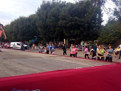 SENDA Previene Loncoche celebra el verano con zumba