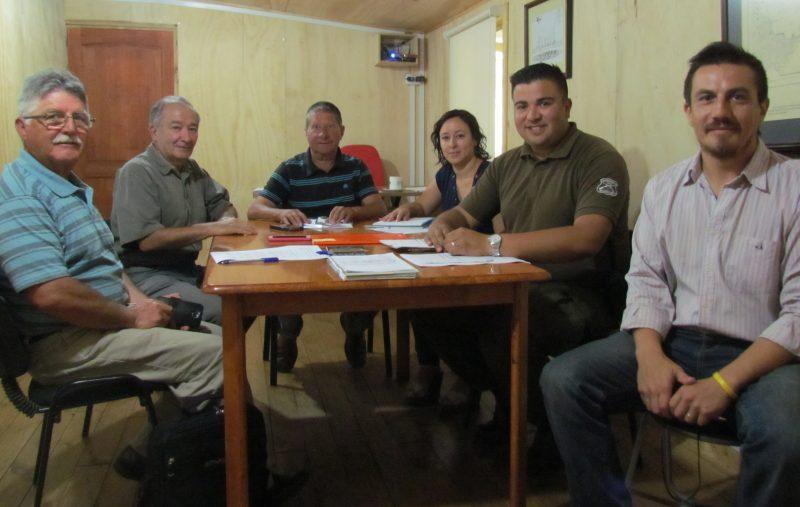 SENDA Previene Juan Fernández participó en la Constitución del Consejo de Seguridad Pública.