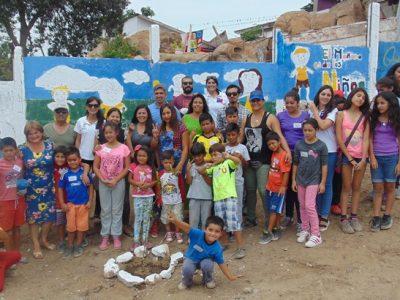 Niños de la Parte Alta recuperan sitio abandonado y lo transforman en plaza preventiva
