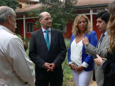 Director de SENDA se reúne con usuarias de centro de tratamiento de Villa Alemana y resalta trabajo intersectorial en su primera visita a regiones