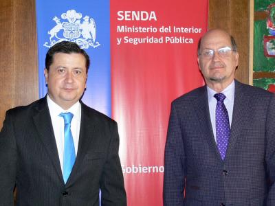 Director de SENDA, Dr. Patricio Bustos, recibió a jefe de la Unidad de Drogas del Ministerio Público