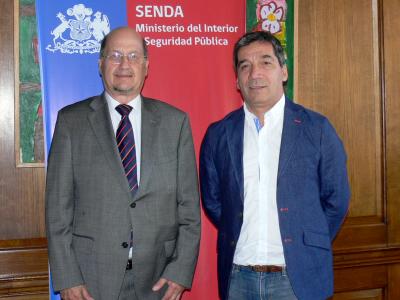 Director de SENDA recibió al alcalde de Independencia