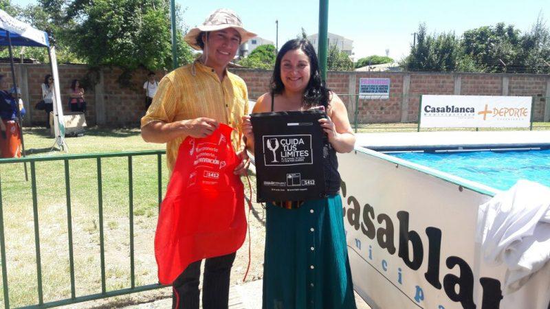 SENDA capacita a comunidad escolar en Villa 89