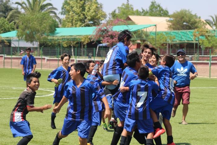 En Andacollo disputan torneo internacional de verano