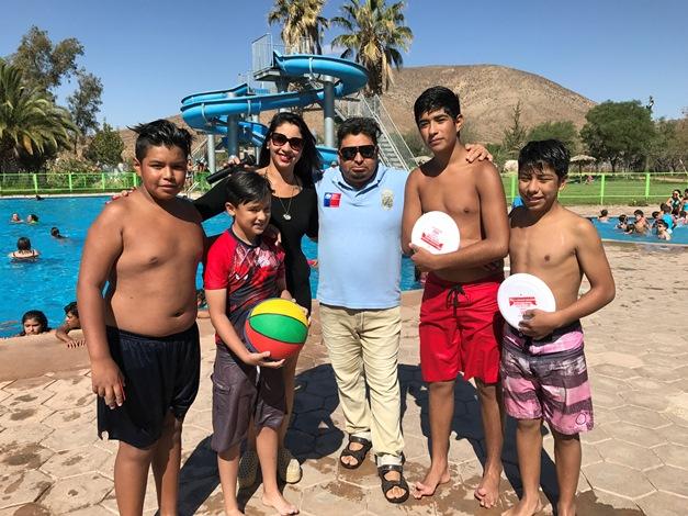 Promueven la prevención en piscinas de Andacollo