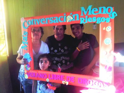 SENDA Previene Collipulli lanzó su campaña de verano 2017 en sector Pablo Neruda