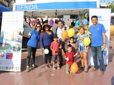 Campaña estival de SENDA se hizo presente en el Carnaval Andino con la Fuerza del Sol