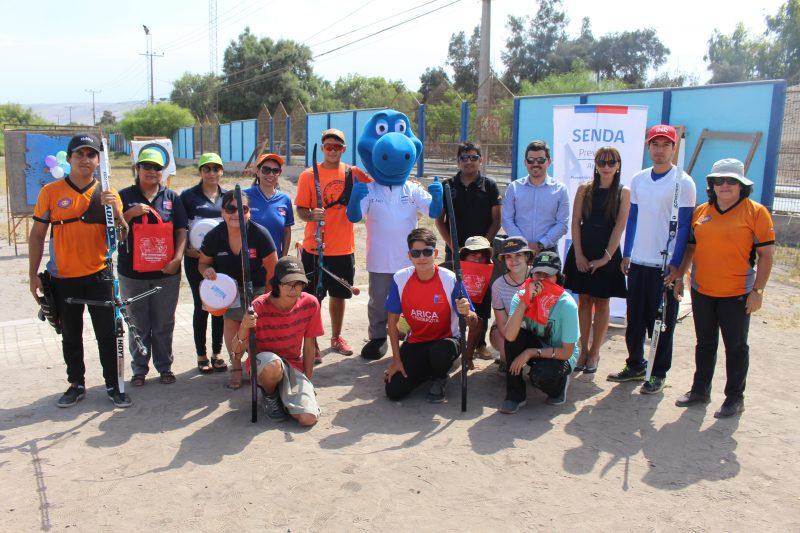 Jóvenes deportistas de Tiro con Arco apuntaron a la prevención por un Verano Libre de Drogas