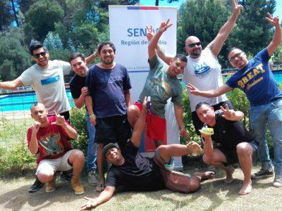 Senda Biobío entrega vacaciones entretenidas a personas en proceso de rehabilitación