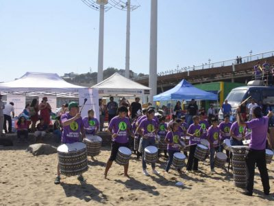 Senda da por finalizadas actividades de verano en Valparaíso con campeonato de fútbol burbuja en la playa