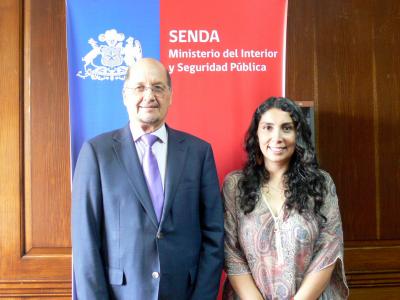Nueva autoridad de SENDA difundió oferta programática en Chiloé