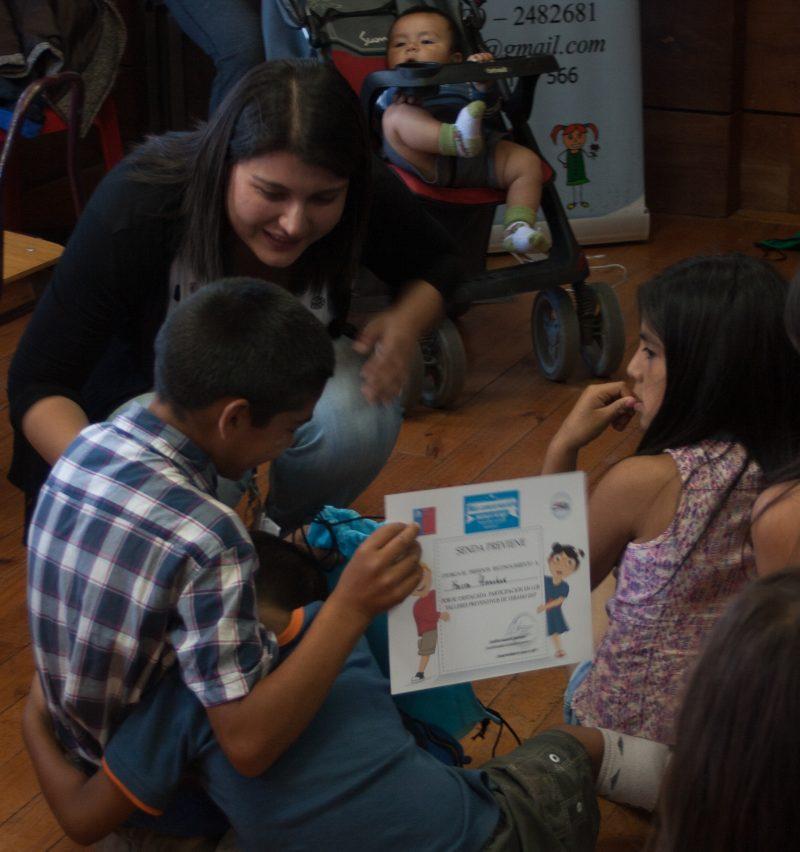 SENDA Previene Puerto Montt realizó talleres de verano en Mirasol