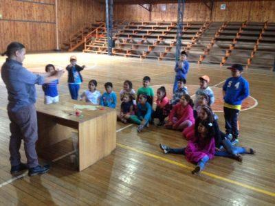 Programa Actuar a Tiempo de SENDA-PREVIENE La Unión realizó jornadas recreativas a niños y niñas de escuelas de verano