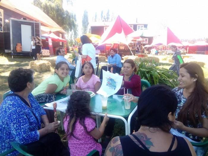 SENDA Previene La Unión llamó al consumo moderado de alcohol en Feria de Turismo y Cultura Misión Trumao