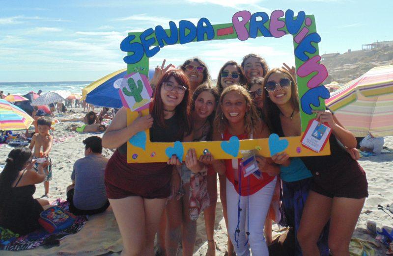 Música, deporte y entretención fueron los protagonistas de una agradable tarde en la Playa Los Ahogados