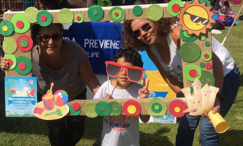 SENDA Previene San Felipe participó en campeonato de natación con más de 250 participantes