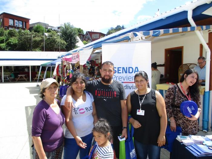 SENDA Previene Valdivia difundió campaña de verano entre turistas