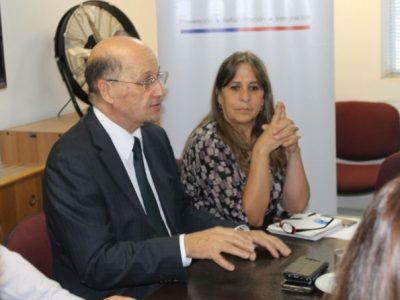 Director de SENDA se reúne con funcionarios de la Región Metropolitana